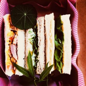 afternoon tea finger sandwiches